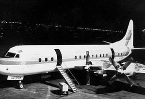 Aviões da Marinha argentina eram usados para jogar opositores à morte Foto: Reprodução