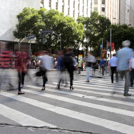 Mercado de trabalho dá sinais de melhora desde abril. Foto: Roberto Moreyra / Agência O Globo