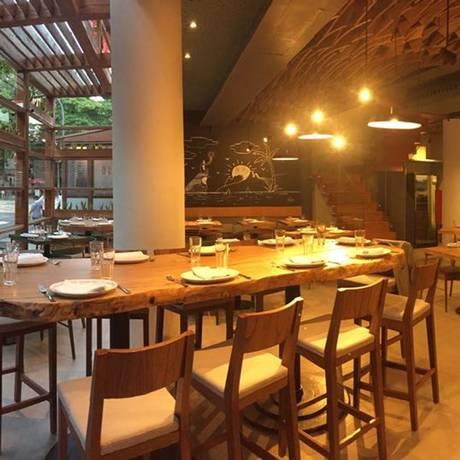 Ambiente da Churrasqueira: tradicional restaurante mineiro de carnes abriu há duas semanas em Ipanema Foto: Divulgação