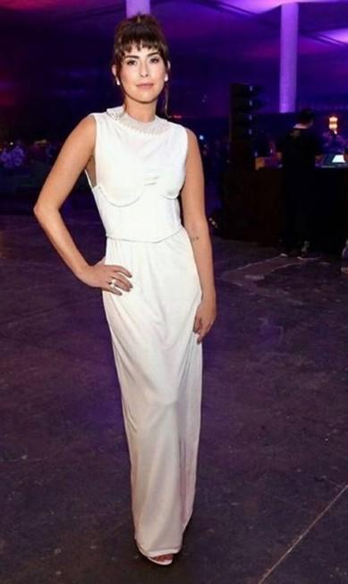 Fernanda Paes Leme usou vestido Forum Reprodução Instagram