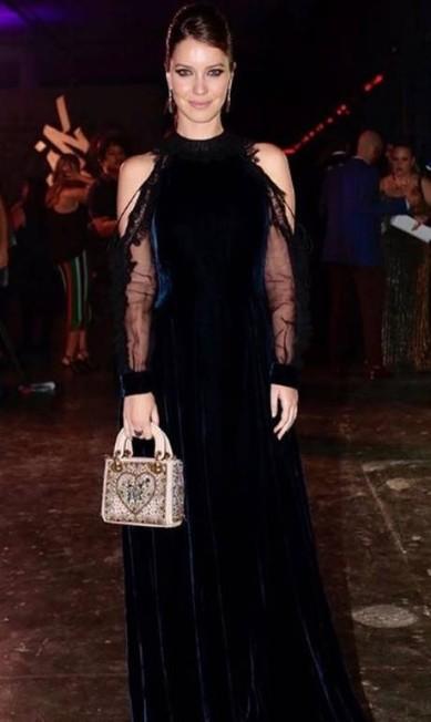 Nathália Dill usou look Dior Reprodução Instagram