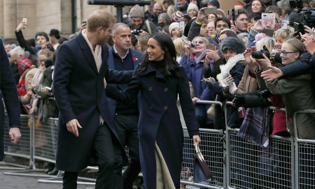 Príncipe Harry e Meghan Markle Alastair Grant / AP
