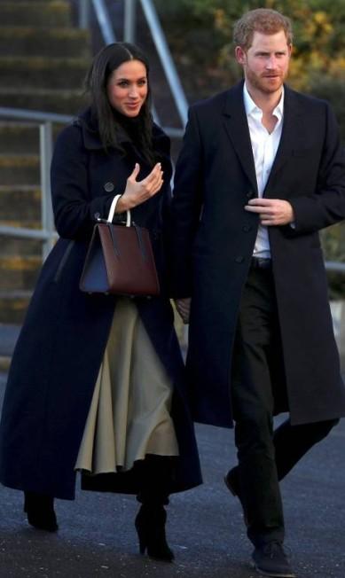 Príncipe Harry e Meghan Markle HANNAH MCKAY / REUTERS