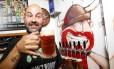 Gustavo Ranzato é o proprietário da Cervejaria Ranz, de Lumiar