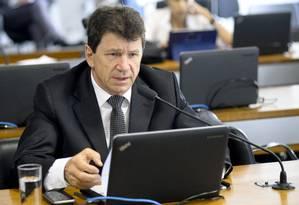 O senador Ivo Cassol (PP-RO), na Comissão de Ciência e Tecnologia (CCT) Foto: Jefferson Rudy/Agência Senado/28-11-2017