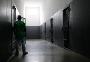 Empresas anunciam risco de colapso no fornecimento de refeições de presos do estado Foto: Pablo Jacob / Agência O Globo