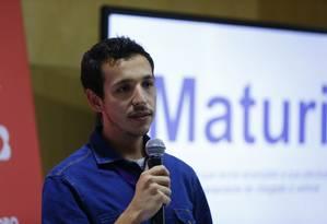 Lucas Bittencourt, fundador da Nuper, empresa que contrata profissionais acima de 50 anos para startup que quer mudar o jeito de fazer compras Foto: Pablo Jacob / Agência O Globo
