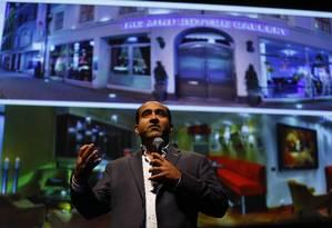 """Rohit Bhargava: """"Tire cara da tela do celular. Preste atenção no mundo ao redor"""" Foto: Pablo Jacob / O GLOBO"""