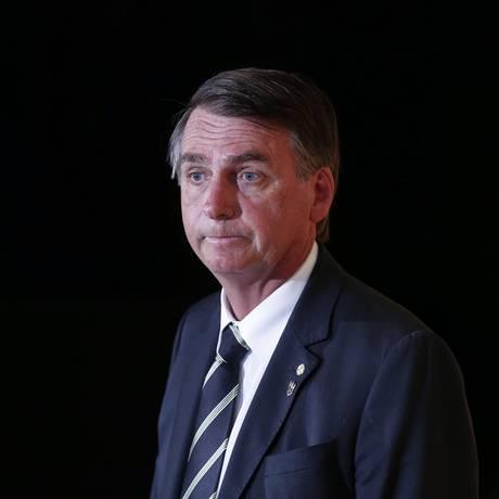 O presidenciável Jair Bolsonaro Foto: Marcos Alves / Agência O Globo