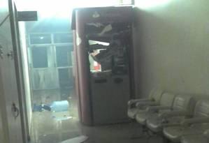 O crime aconteceu durante a madrugada deste domingo Foto: Reprodução Facebbok