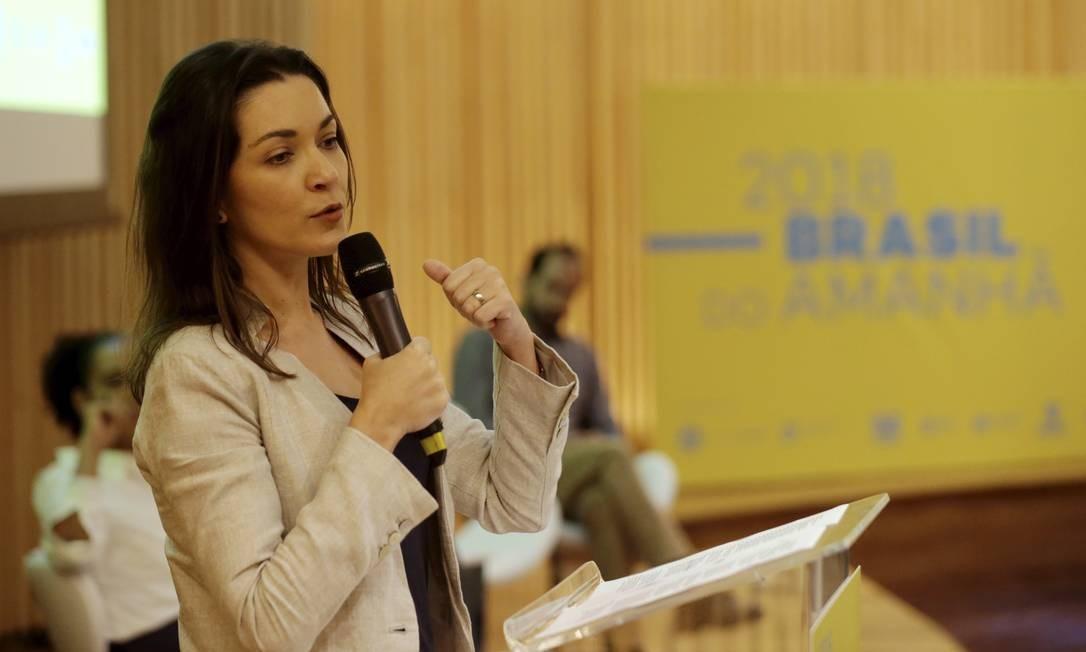 Ilona Szabó é uma das idealizadoras do movimento Foto: Marcelo Theobald / Agência O Globo