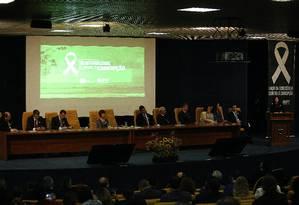 Evento do Ministério Público Federal comemora Dia Internacional de Combate à Corrupção Foto: Ailton de Freitas / Ailton de Freitas/Agência O Globo