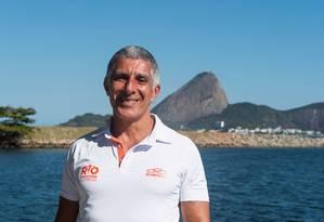 O empresário Carlos Sampaio, sócio da empresa Spiridon Promoções e Eventos, que organiza a Maratona do Rio Foto: Thiago Diz