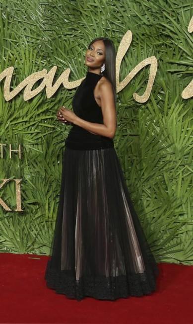 A modelo Naomi Campbell também esteve no evento Joel C Ryan / Joel C Ryan/AP