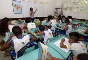 BNCC deve ser implementada um ano após homologação. Foto: Agência O Globo