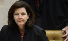 A procuradora-geral da República, Raquel Dodge, no Supremo Tribunal Federal (STF) Foto: Jorge William / Agência O Globo / 29-11-2017