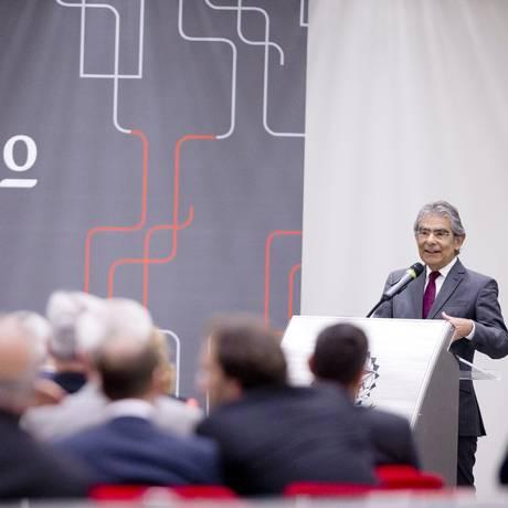 16/03/2017: Carlos Ayres Britto, presidente do Conselho Superior do Instituto Innovare, na cerimônia de lançamento do 14º Prêmio Instituto Innovare Foto: Jorge William / Agência O Globo