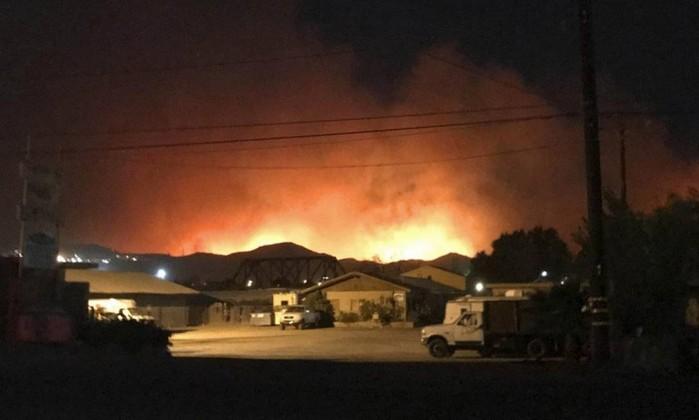 Após dois meses, Califórnia tem novo incêndio florestal