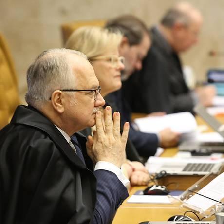 O ministro Edson Fachin, relator da Lava-Jato no Supremo Foto: Ailton de Freitas / Agência O Globo 23/11/2017