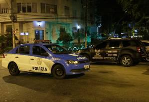Projeto de segurança privada em Laranjeiras divide opiniões de moradores do bairro Foto: Roberto Moreyra / Agência O Globo