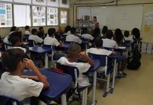 BNCC norteará os currículos de todas as escolas do país Foto: Zeca Gonçalves / Agência O Globo