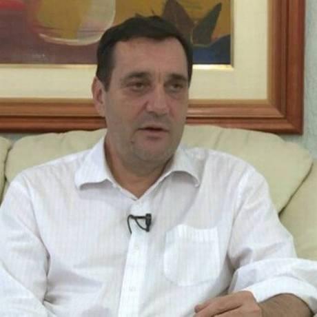 O reitor Luiz Carlos Cancellier Foto: Reprodução/TV UFSC