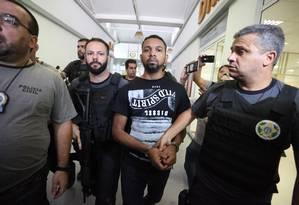 Rogério 157, chefe do tráfico na Rocinha é preso Foto: Fabiano Rocha / O Globo