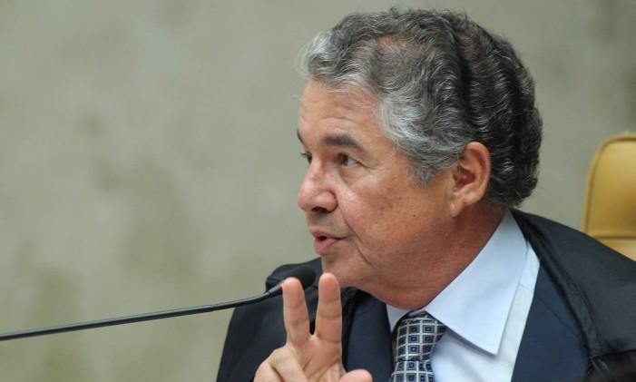 O ministro do STF, Marco Aurélio Mello Foto: Ailton de Freitas / Agência O Globo