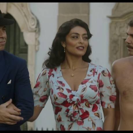 Cena do filme 'Dona Flor e seus dois maridos' Foto: Divulgação