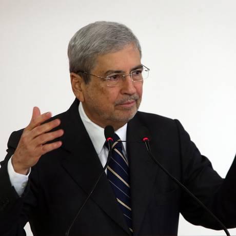 O ministro-chefe da Secretaria de Governo, Antônio Imbassahy, durante evento Foto: Givaldo Barbosa/Agência O Globo