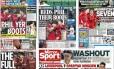 Goleada do Liverpool é manchete em jornais britânicos