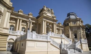 O Palácio Guanabara, sede do governo estadual Foto: Ana Branco / Agência O Globo
