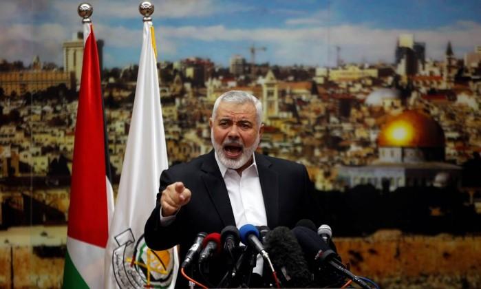 Resultado de imagem para Líder do Hamas convoca nova intifada contra Israel