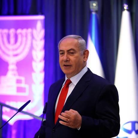 O primeiro-ministro de Israel, Benjamin Netanyahu. Foto: RONEN ZVULUN / REUTERS
