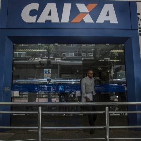 Agência da Caixa no Rio de Janeiro. Dado Galdieri/Bloomberg