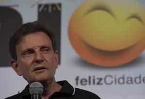 O prefeito do Rio, Marcelo Crivella Foto: Alexandre Cassiano / Agência O Globo
