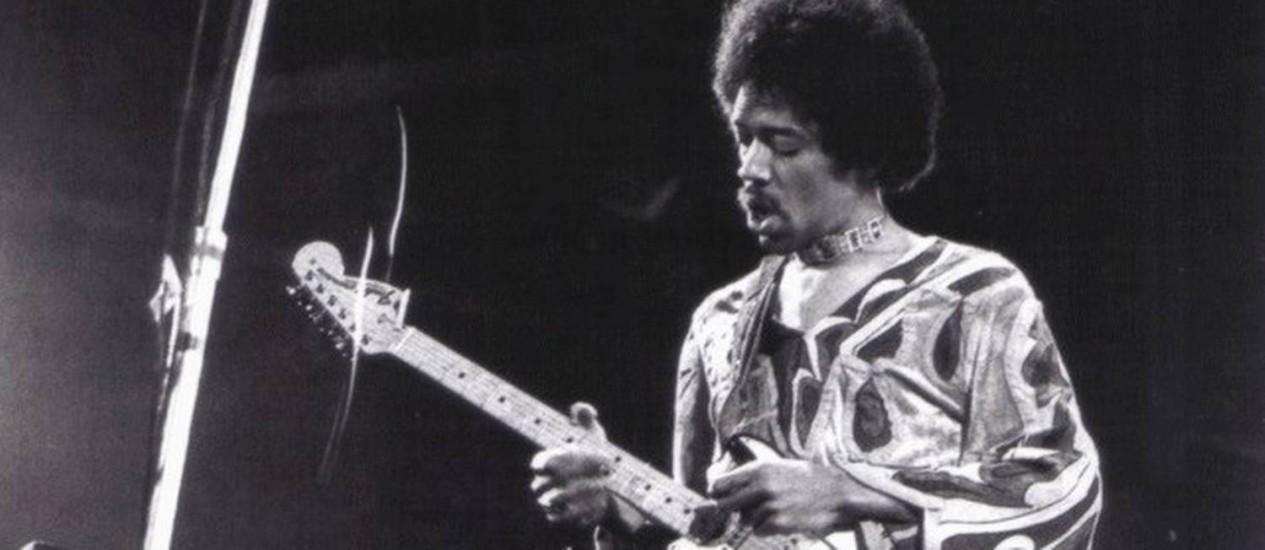Jimi Hendrix Foto: Arquivo