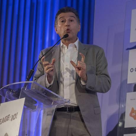 Cláudio Lottenberg, presidente do UnitedHealth Group Brasil, já foi secretário de Saúde de São Paulo. Ele foi um dos palestrantes do painel sobre saúde do 'Reage, Rio!' Foto: Julio Cesar Guimaraes / Agência O Globo