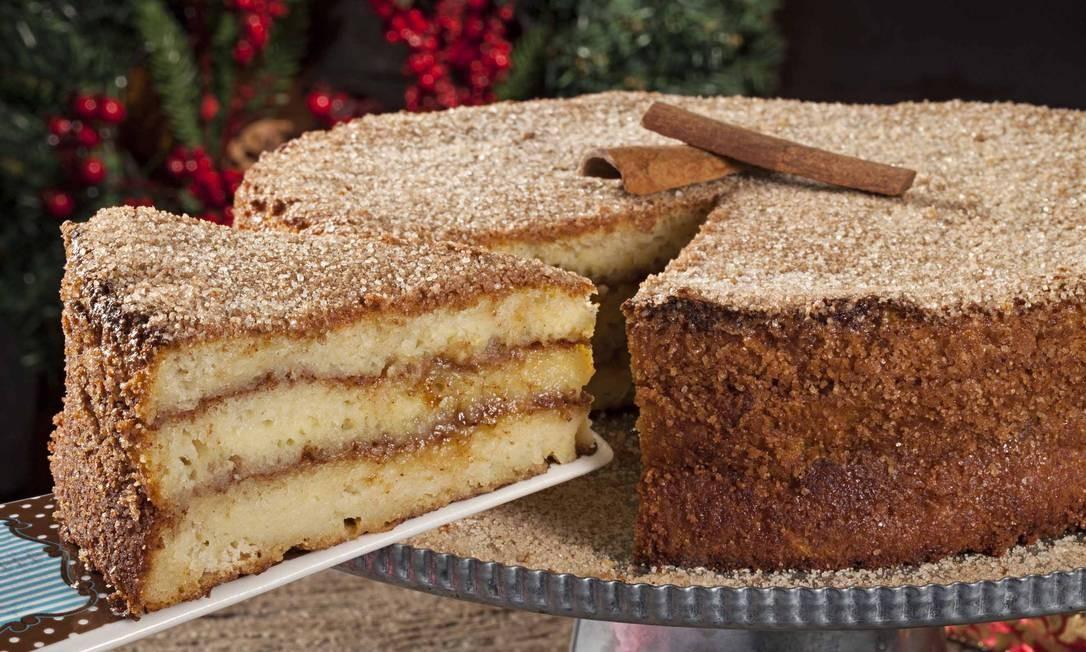 A Torta & Cia aposta na torta de rabanada (R$ 118 inteira; R$ 14, a fatia), assada. Cobal do Humaitá: Rua Voluntários da Pátria 446, loja 13 (2537-8484). Foto: Divulgação/Rodrigo Azevedo