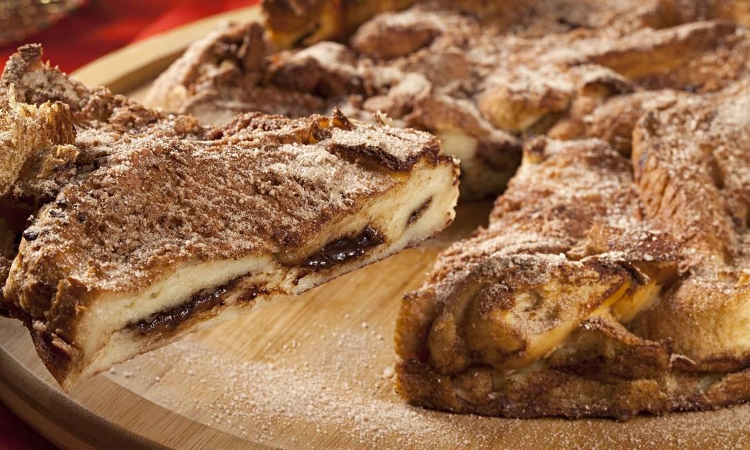 No cardápio de festas da Deli 43 tem torta de rabanada (assada) recheada com chocolate (R$ 75). Leblon: Rua João Lira 97 (2294-1745). Centro: Rua Gonçalves Dias 43 (2222-1163). Divulgação/Rodrigo Azevedo