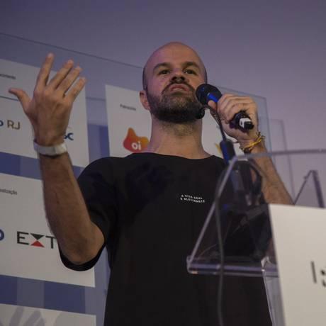 André Carvalhal, diretor criativo da Ahlma, no 'Reage, Rio!':