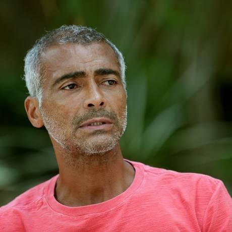 Romário se submeteu a uma cirurgia metabólica no início de 2017 porque, segundo ele, seu diabetes estava incontrolável: chegava a 400 mg/dL (miligramas por decilitro) Foto: Márcio Alves / Agência O Globo