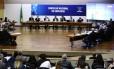 Reunião do Conselho Nacional de Educação, em Brasília Foto: Jorge William/Agência O Globo