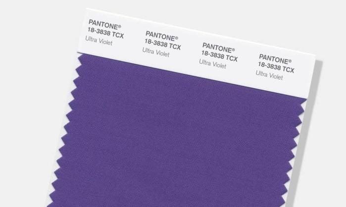 2018 vai ser Ultra Violet