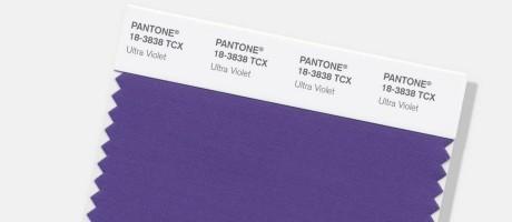 """""""Ultra Violet"""": a cor de 2018 Foto: AP"""