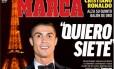 Cristiano Ronaldo quer a sétima Bola de Ouro