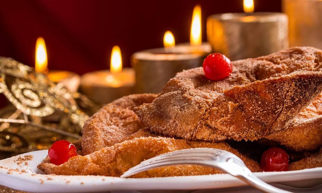 Para adoçar o clime pré-Natal, a The Bakers ofereced tábua de rabanadas (R$ 99,90, 14 unidades). Rua Santa Clara 86-B, Copacabana (3209-1212). Foto: Divulgação/Filico