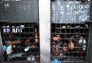 Inspeção do Conselho Nacional do CNJ em unidades prisionais de Sergipe. Foto: Luiz Silveira / Agência O Globo