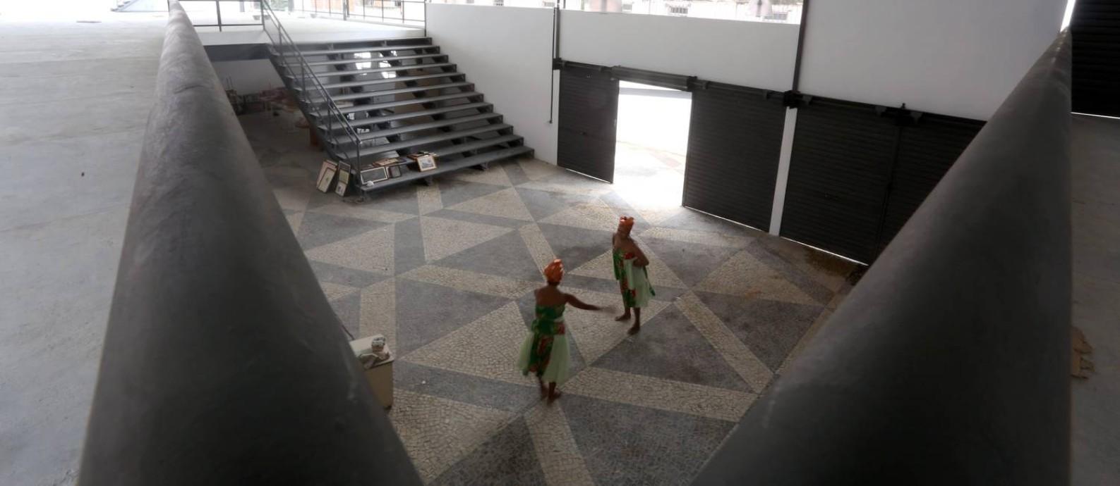 Casa do Jongo, que foi inaugurada em 2015 Foto: Custódio Coimbra / O Globo