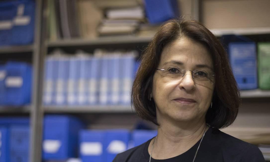"""Política pública. Paula Poncioni, da UFRJ: """"A PM tem oficiais que fazem supervisão, mas é protocolar"""" Foto: Julio Cesar Guimaraes / Agência O Globo"""